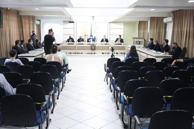 Legislativo beltronense realiza a primeira sessão ordinária com a presença do prefeito