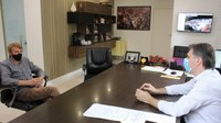 Presidente do Legislativo visita o prefeito