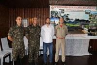 Vereador prestigia a posse do novo comandante do 16º Esquadrão